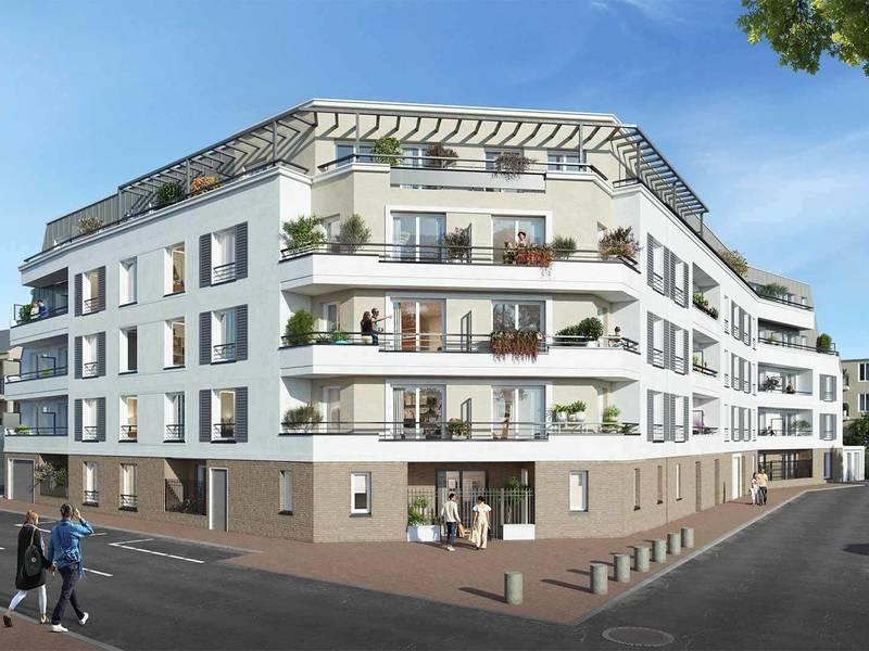Appartement neuf, 59,53 m²