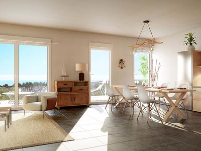 Appartement neuf, 89,75 m²