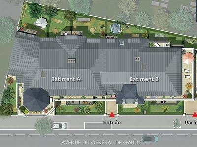 Appartement neuf, 67,07 m²