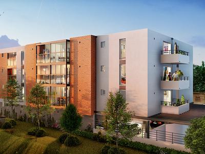 Appartement neuf, 77,3 m²