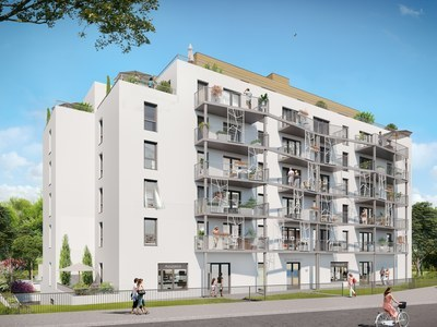 Appartement neuf, 60,69 m²