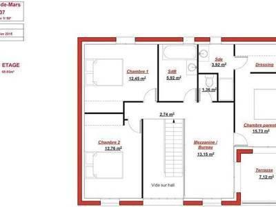 Maison neuve, 137 m²