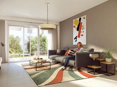 Appartement neuf, 84,49 m²