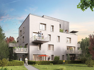 Appartement neuf, 45,6 m²