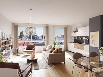Appartement neuf, 53,9 m²