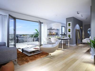 Appartement neuf, 58,1 m²