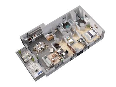 Appartement neuf, 40,45 m²