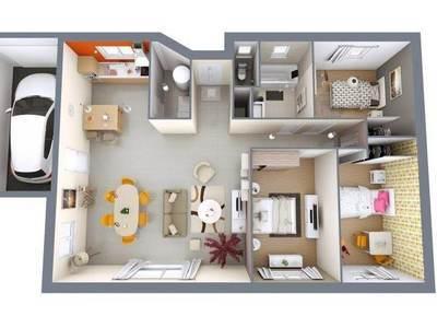 Maison neuve, 90 m²
