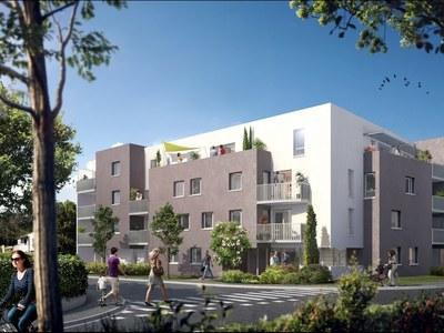 Appartement neuf, 53,14 m²