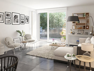 Appartement neuf, 93,2 m²