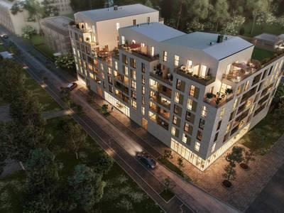 Appartement neuf, 59,76 m²