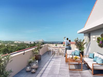 Appartement neuf, 58,39 m²