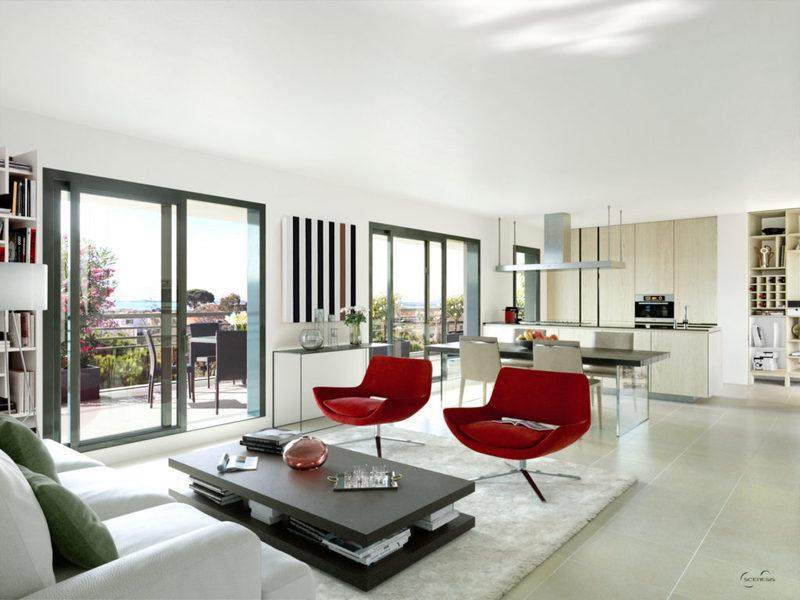 Appartement neuf, 66,5 m²