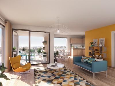 Appartement neuf, 68,1 m²