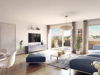 Appartement neuf, 43,87 m²