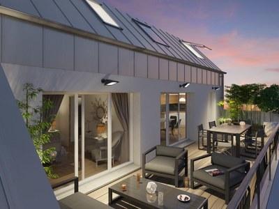 Appartement neuf, 61,96 m²