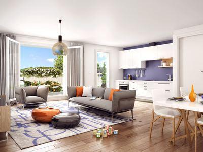 Appartement neuf, 57,7 m²