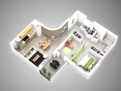 Appartement neuf, 67,3 m²