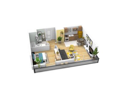 Appartement neuf, 87,82 m²