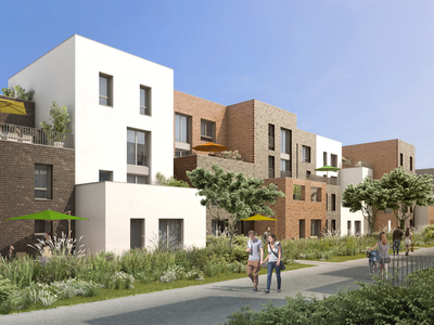 Appartement neuf, 33,1 m²