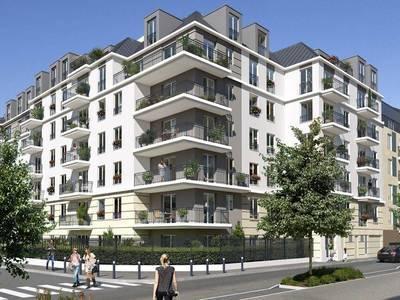 Appartement neuf, 57,84 m²
