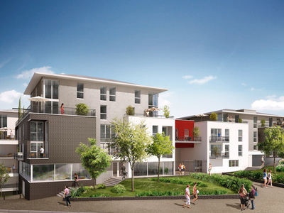 Appartement neuf, 43,54 m²