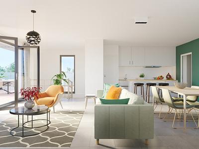 Appartement neuf, 102 m²