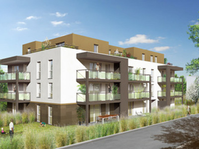 Appartement neuf, 39,4 m²