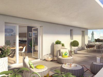 Appartement neuf, 73 m²