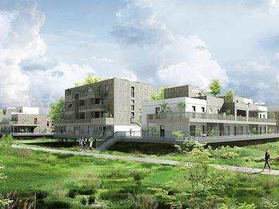 Maison neuve, 66,88 m²