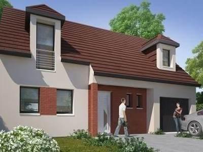 Maison neuve, 93,82 m²