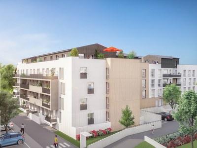Appartement neuf, 40,6 m²