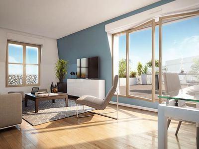 Appartement neuf, 73,8 m²