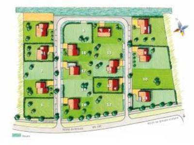 Terrain à bâtir, 539 m²