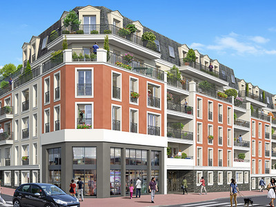 Appartement neuf, 64,7 m²
