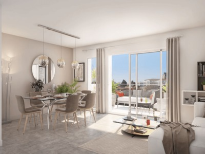 Appartement neuf, 64,81 m²