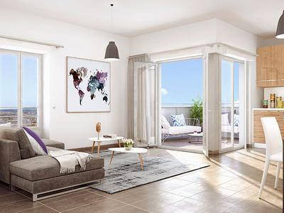 Appartement neuf, 62,33 m²