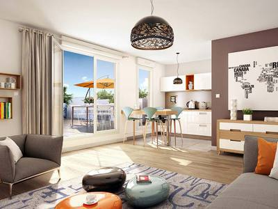 Appartement neuf, 79,1 m²