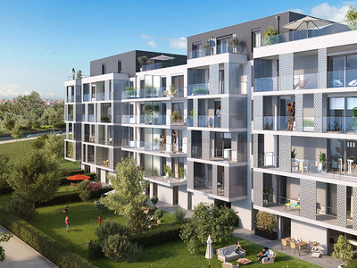 Appartement neuf, 75,4 m²