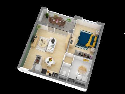Appartement neuf, 89 m²