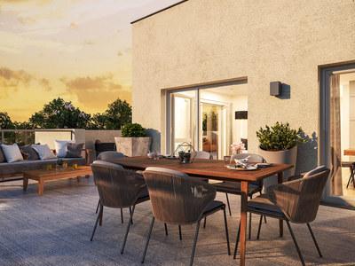 Appartement neuf, 61,83 m²