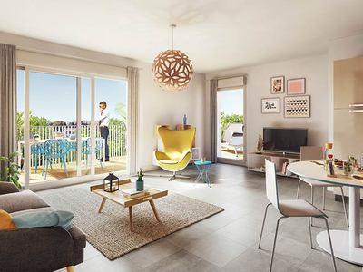 Appartement neuf, 57,53 m²