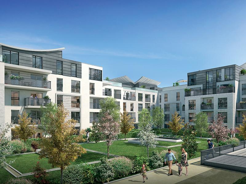 Credit agricole immobilier promotion lagny sur marne carre - La residence eb par replinger hossner architects ...