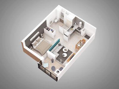 Appartement neuf, 63,7 m²
