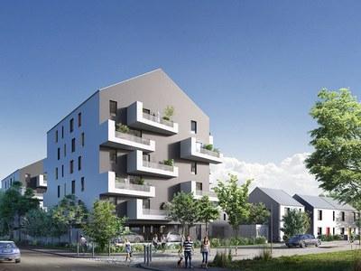Appartement neuf, 41,4 m²