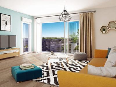 Appartement neuf, 61,91 m²