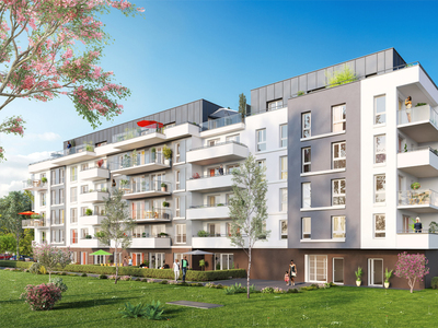 Appartement neuf, 49,2 m²