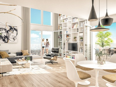Appartement neuf, 82,8 m²