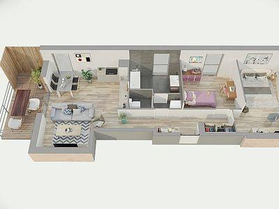 Appartement neuf, 100 m²