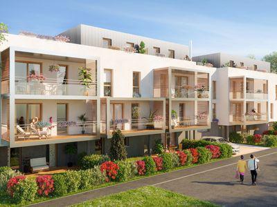 Appartement neuf, 56,5 m²